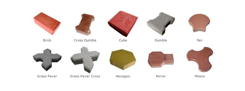 Types Of Interlock Tiles
