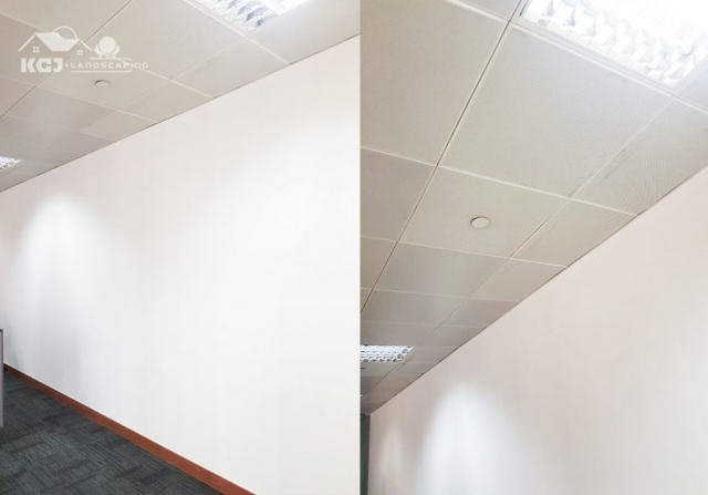 installation of Gypsum Partition Wall