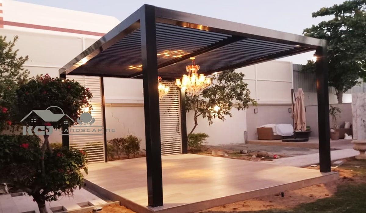 Pergola Design in Dubai