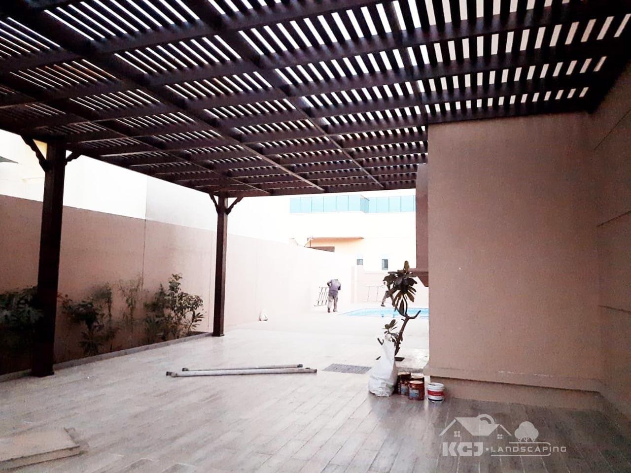 Pergola contractors in Dubai