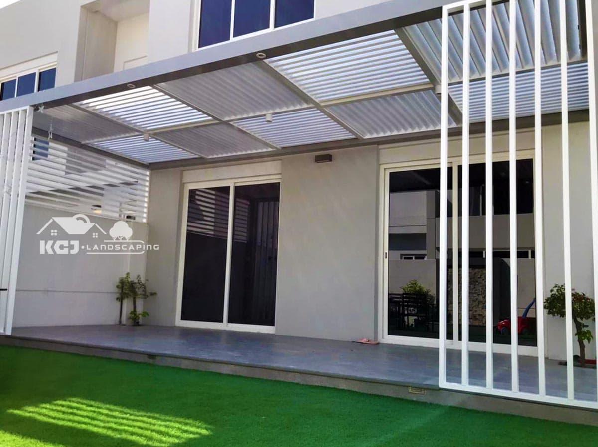 Aluminium Pergola installation