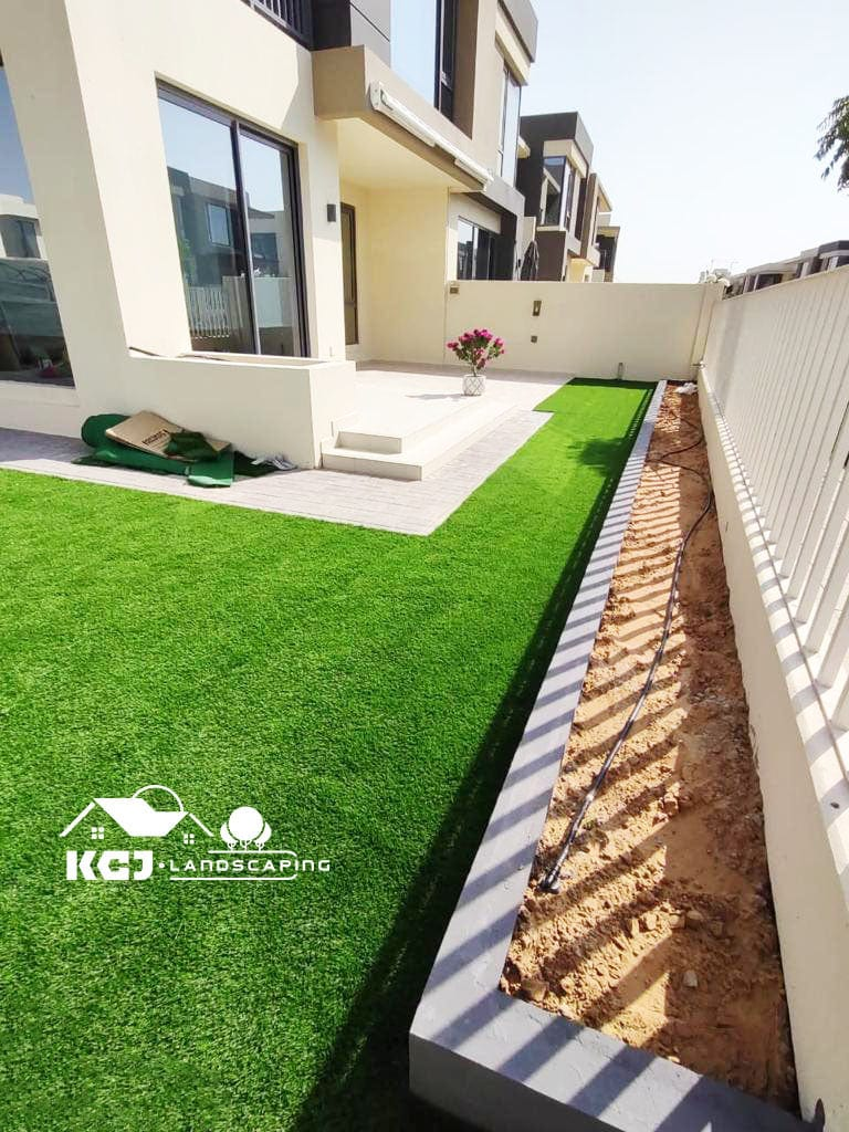 Installation of Tiles and Artificial Grass Dubai (1)