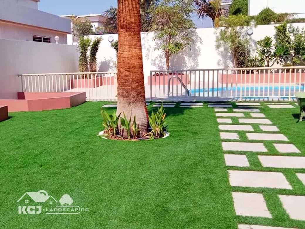 artificial grass installation