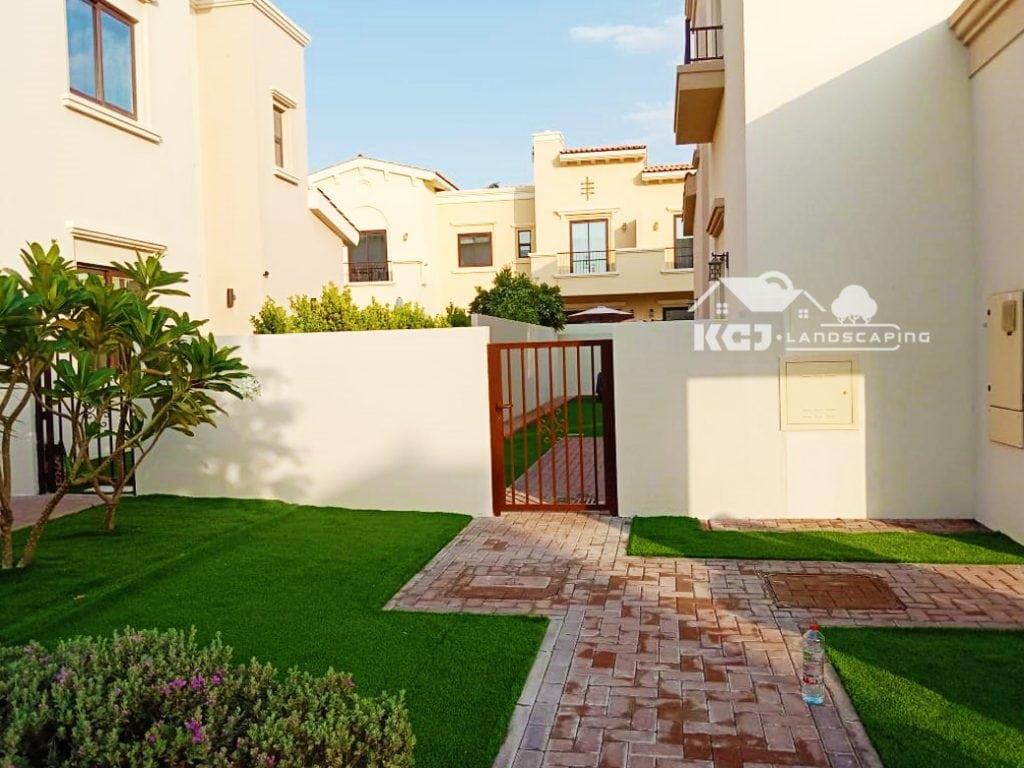 artificial grass installation uae