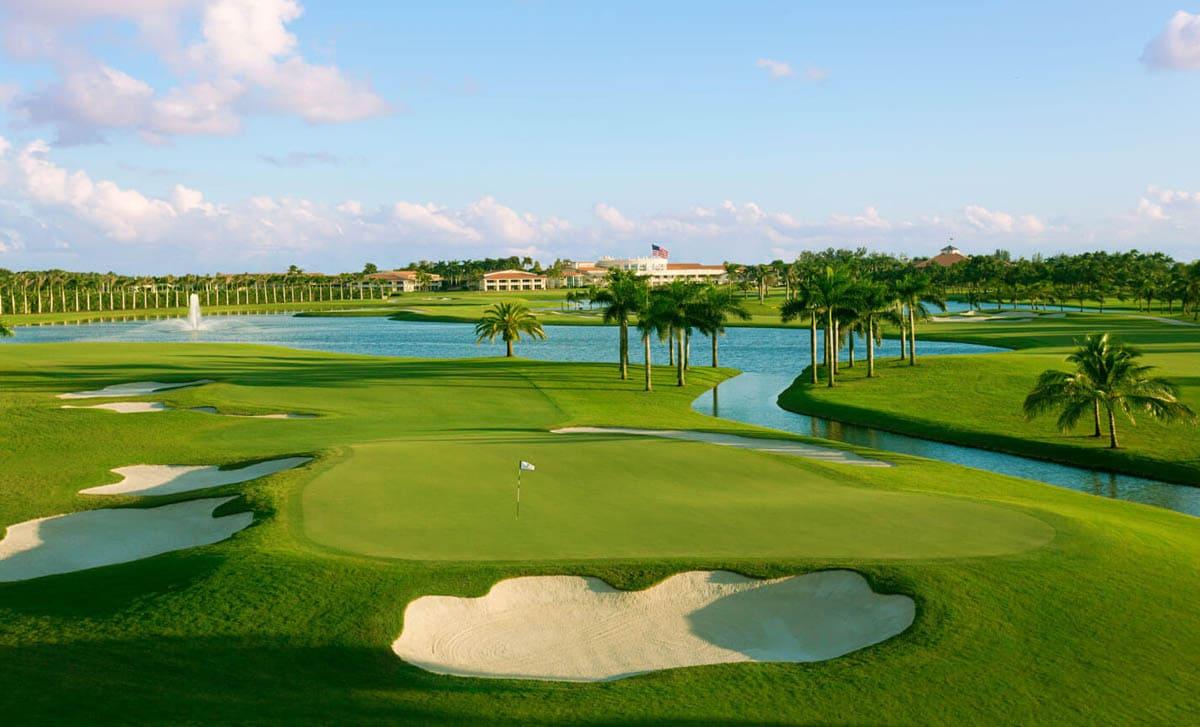 golf court landscaping Dubai