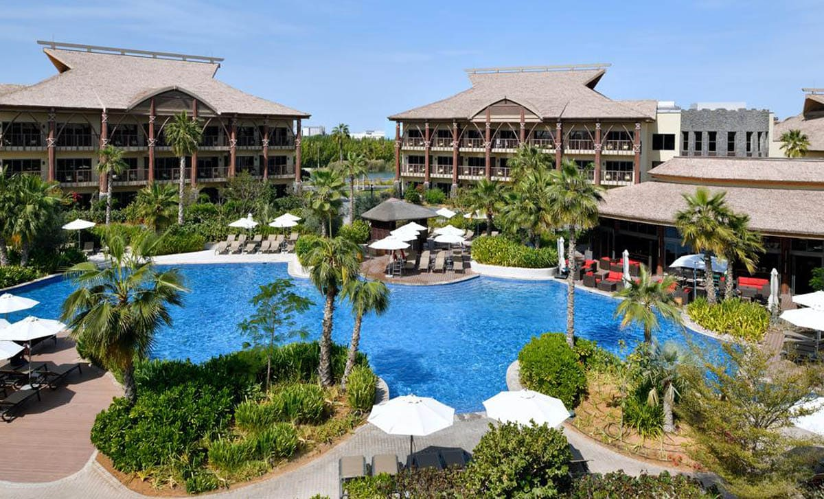 resort landscaping dubai